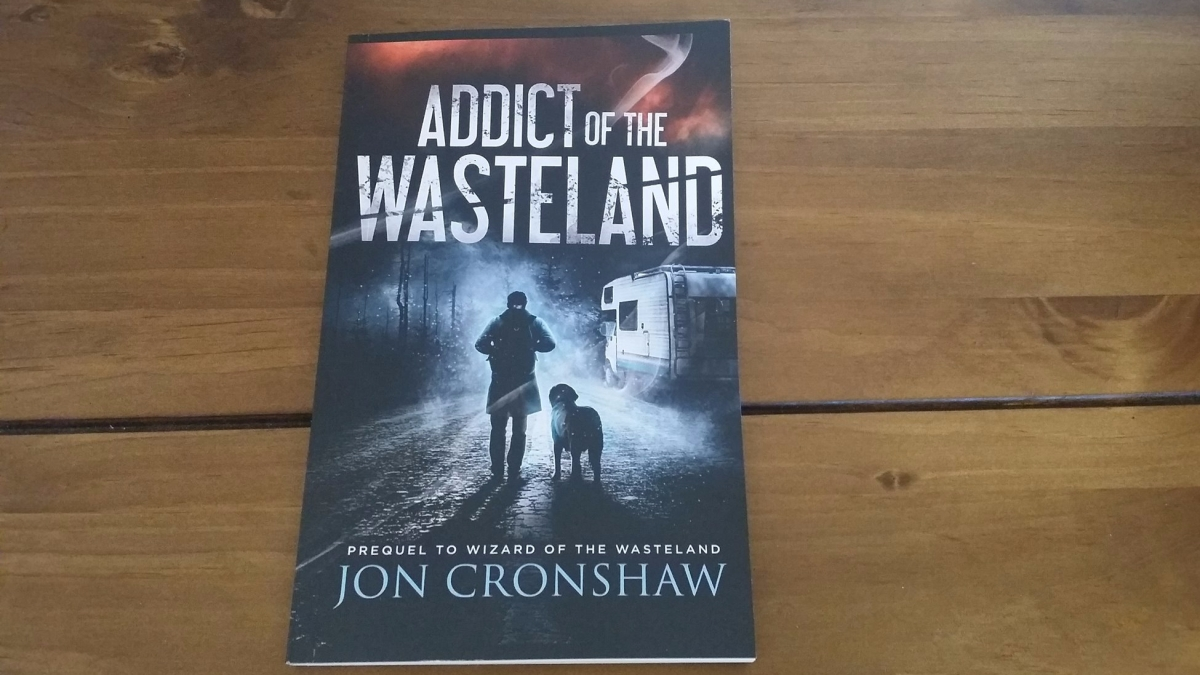 Addict of the Wasteland paperback now available!