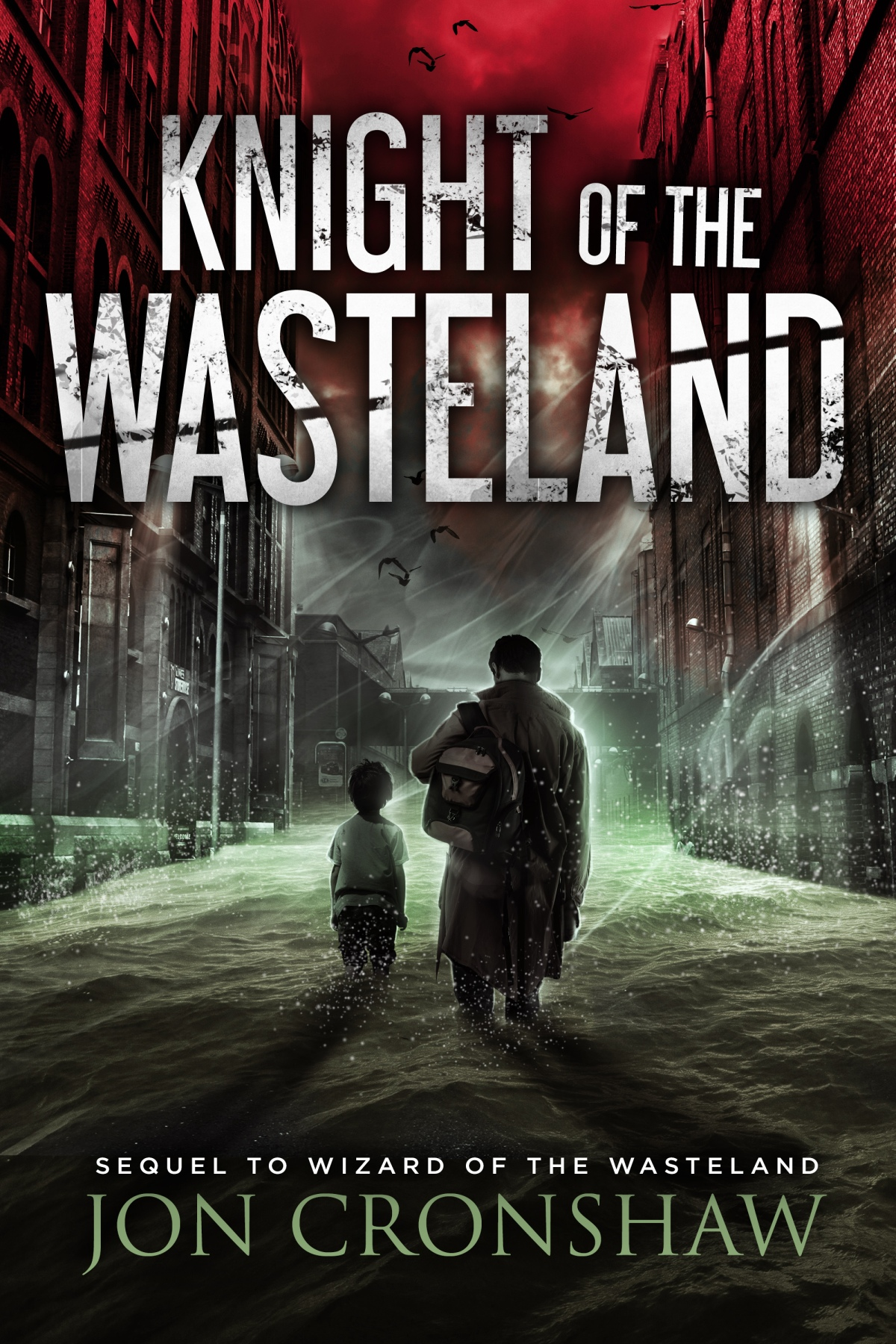 Cover reveal: Knight of the Wasteland (Wasteland book 2)