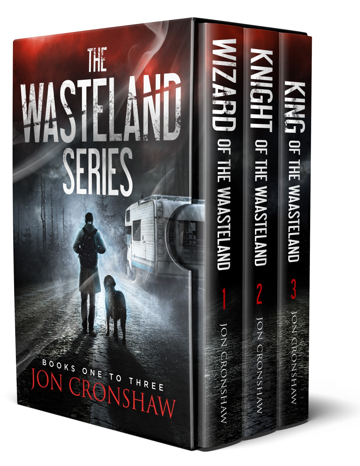 Announcing: The Wasteland Series boxset is now available!