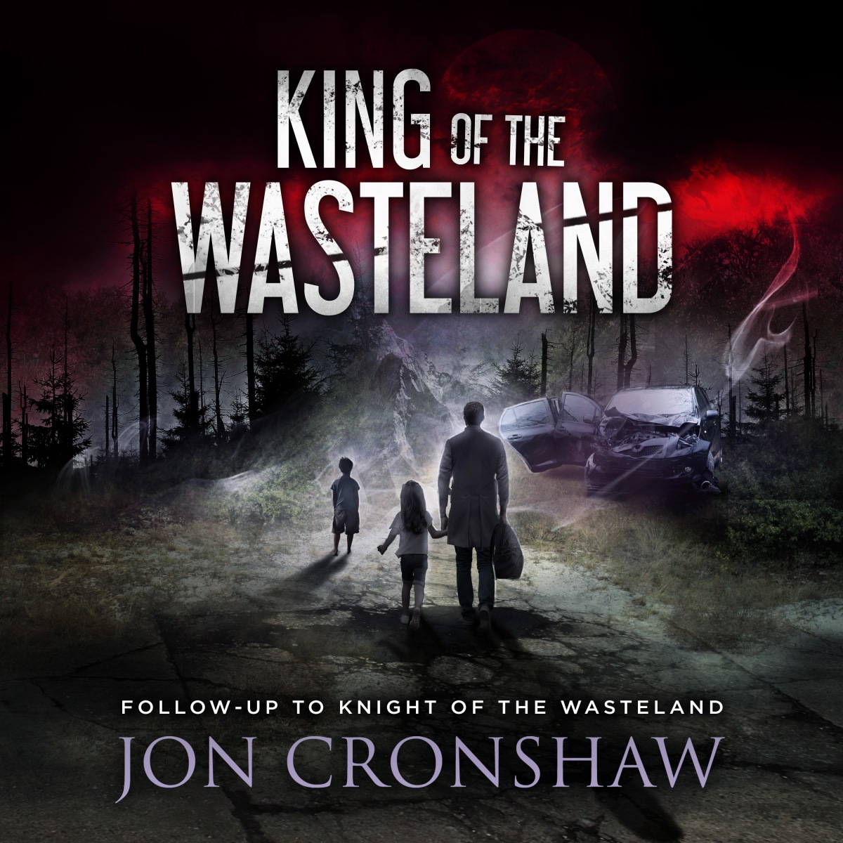 Announcing: The King of the Wasteland audio edition is now available!