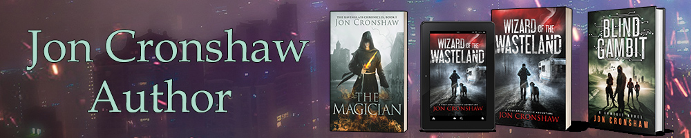 Jon Cronshaw Author